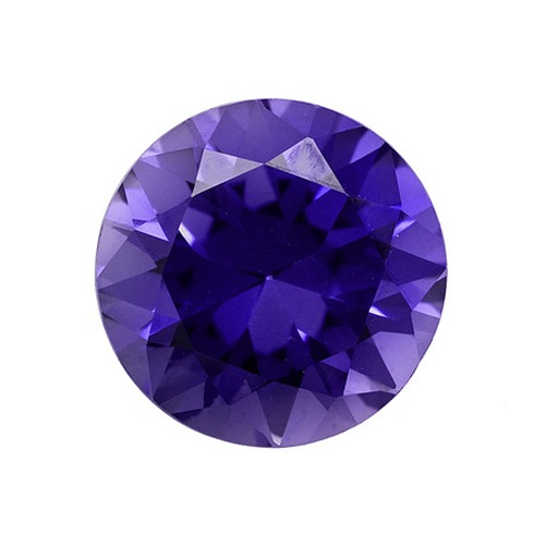 Round Synthetic Tanzanite 3 Mm