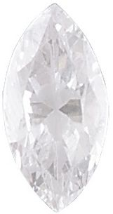 AAA Rated Marquise Cubic Zirconia: 7.0 x 3.5mm, 0.38cts
