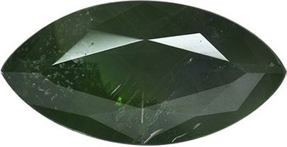 Marquise Synthetic Alexandrite: 9.0mm x 4.5mm, 0.75cts