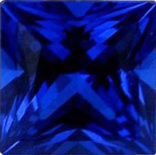 Square Synthetic Sapphire: 10.0mm
