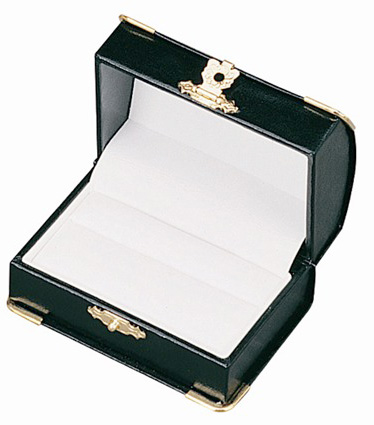 Diana's Double Ring Box: Black