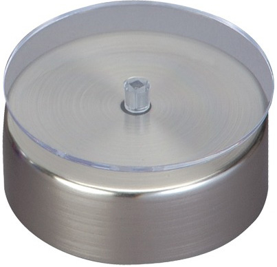"3.5"" Diameter Glass Turntable"