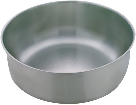 "Stainless Steel Weighting Dish: 7""D x 2 3/4""H Dimension"