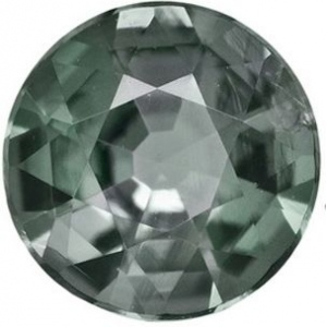Synthetic Round Alexandrite: 15.0mm