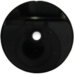 Round Onyx with Hole: 13.0mm