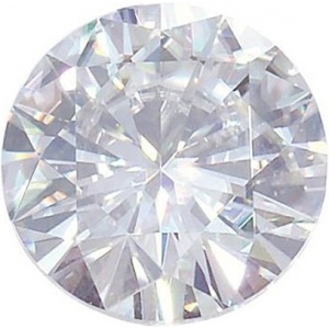 Round Moissanite: 14.0mm
