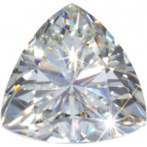 Trillion Cut Moissanite: 3.50mm