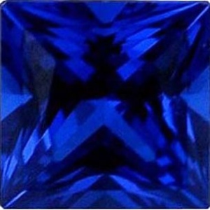 Square Synthetic Sapphire: 4.00mm