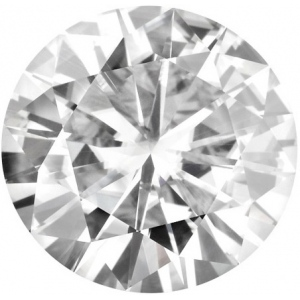 Forever Brilliant Round Moissanite: 8.5mm