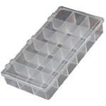 "Divided Storage Box: 12 Compartments, 12.5"" x 8.5"""