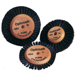 2A Optima Wood Hub Brush: 3 1/8'' Overall Diameter, Pack of 6