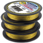 "Bead Wire Gold Plated: 0.018"" Diameter"