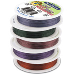 Bead Wire 7 Strand: Purple, 0.015'' Diameter