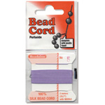 "Bead Cord: Brown, 0.028"" Diameter"