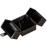2-Door Ring Box: Black