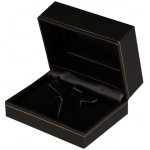 Ring & Earring Box: Black