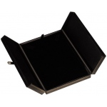 2-Door Large Necklace Box: Black