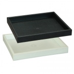 "1.75"" High Deluxe Tray: Black"