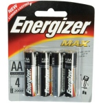 AA Batteries: Pack of 4 Pieces