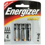 AAA Batteries: Pack of 4 Pieces