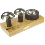 Cupola Punch and Die Set: 2.5 Inches, 2.75 Inches Punch Sizes