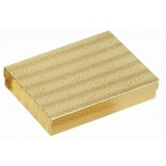 "Cotton Filled Gold Box: Size 7"" x 5.5"""