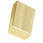 "Cotton Filled Gold Box: Size 2.6"" x 1.6"""