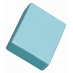 "Cotton Filled Blue Box: 2"" x 1.5"""