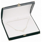 Diana Large Necklace Box: Black