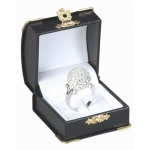 Diana's Clip Ring Box: Black