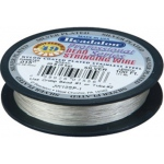 Bead Wire 49 Strand Silver Plated: 0.015'' Diameter