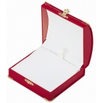 Diana Large Pendant/Bangle Box: Red