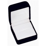 Flocked Ring Box: Black