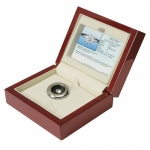Stone Wood Box with Certificate Holder