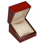 Watch Box: Mahagony/Cream