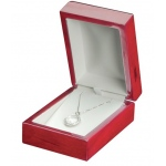 Pendant Box: Cherry/White