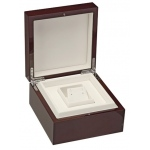 Luxury Earring Box: Cherry/White