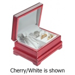 3-Rings Plus Pouch Box: Cherry/Off-White