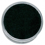 "Black Round Clear Box (Foam): 1-3/4"" Diameter, Pack of 12"