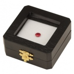 "Reversible Gem Box 2.75"" x 2.75"" Square: Black/White"