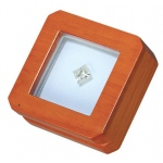 "Reversible Gem Box 2.75"" x 2.75"" Square: Beechwood/White"