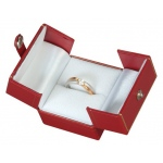 2-Door Ring Box: Red