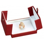 2-Door Ring Clip Box: Red