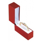 Small Bangle Watch Box: Red