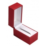Large Bangle/Watch Box: Red