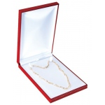 Medium Necklace Box: Red