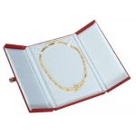 2-Door Large Necklace Box: Red