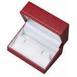 Cufflinks Box: Red