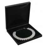 Necklace Box: Black, Case of 36