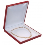Necklace Box: Red, Case of 36